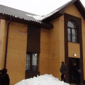Посвящение молитвенного дома в Железногорске