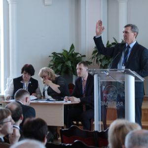 В Заокском на VIII съезде Южного объединения избрали новую команду служителей