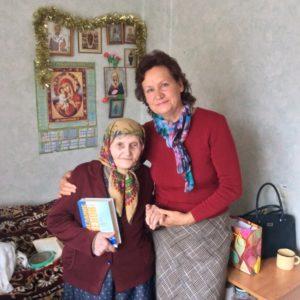 В Железногорске ветеранов труда поздравили с днем пожилого человека