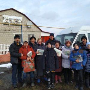 Газетное служение в Яблоново