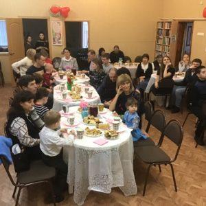 Вечер семейных талантов в Новой Усмани