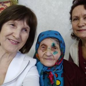 Посетители дома престарелых в Железногорске обретают веру