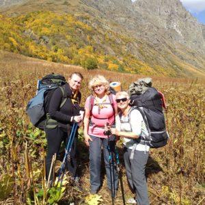 Туринструкторы Южного Объединения совершили поход по горам Кавказа