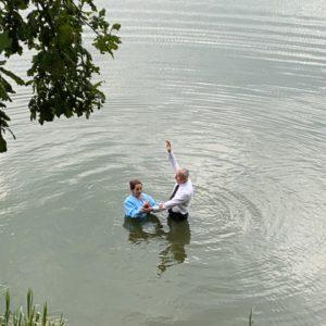 Крещение в Железногорске